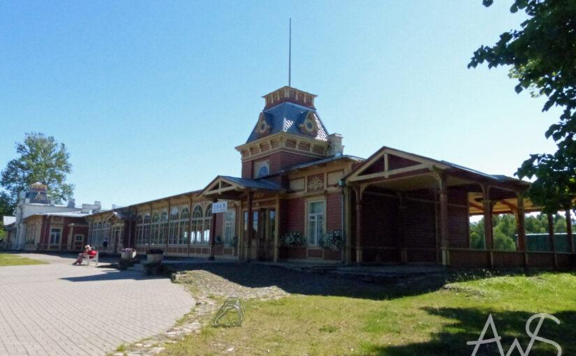 Haapsalu, ein Bahnhof für den Zar