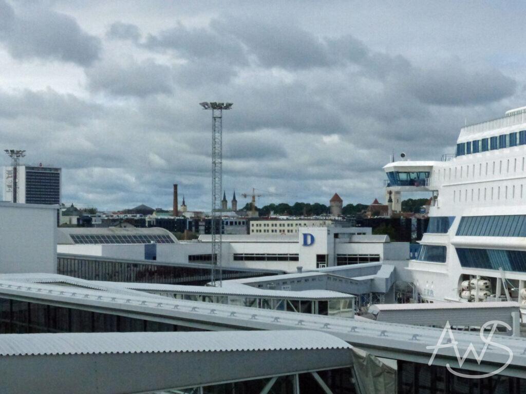 Fährhafen mitten in Helsinki