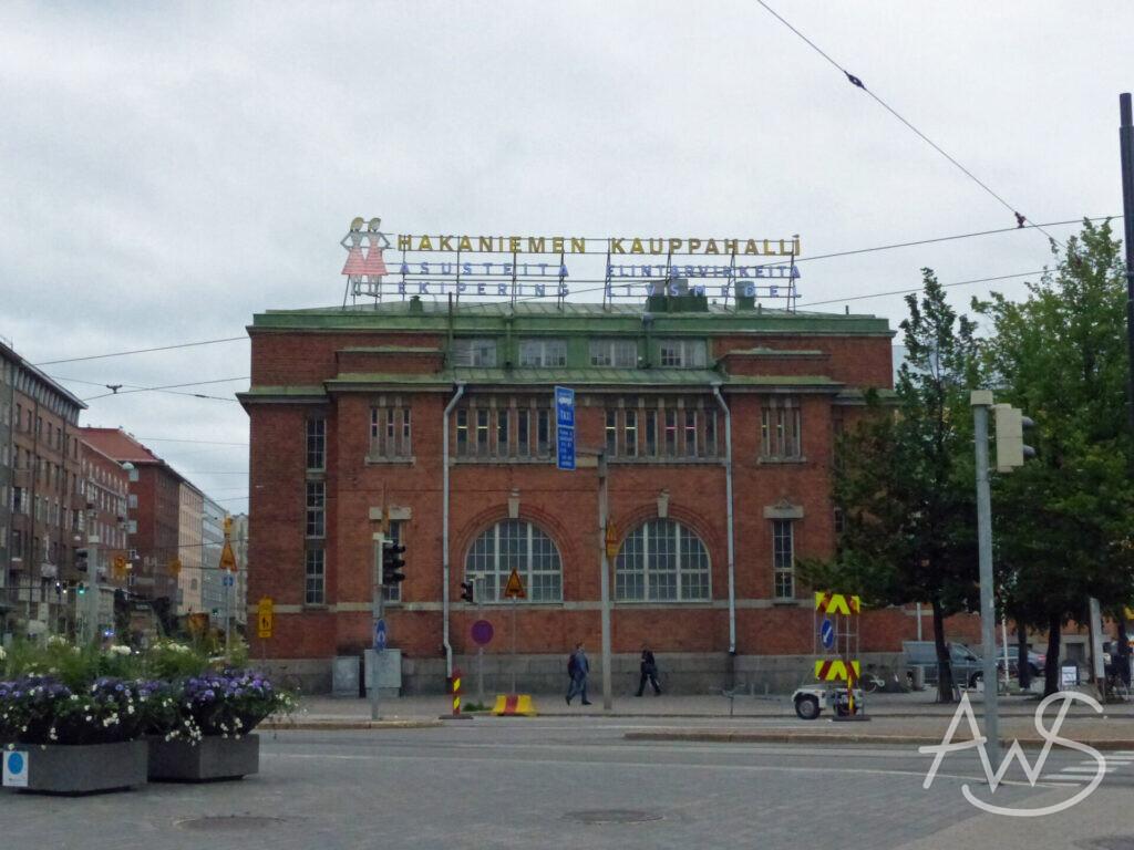noch eine Markthalle in Helsinki